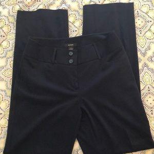 Alfani women's work pants navy 4